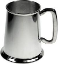 Английская пивная кружка Строгая Классика-простой танкард (пьютер) Plain tankard