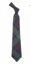 Истинно шотландский клетчатый галстук 100% шерсть , расцветка  Isle of Skye - Айл оф Скай